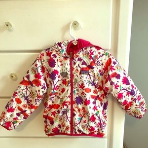 Patagonia Reversible Puff Ball Jacket Size 2T-3T